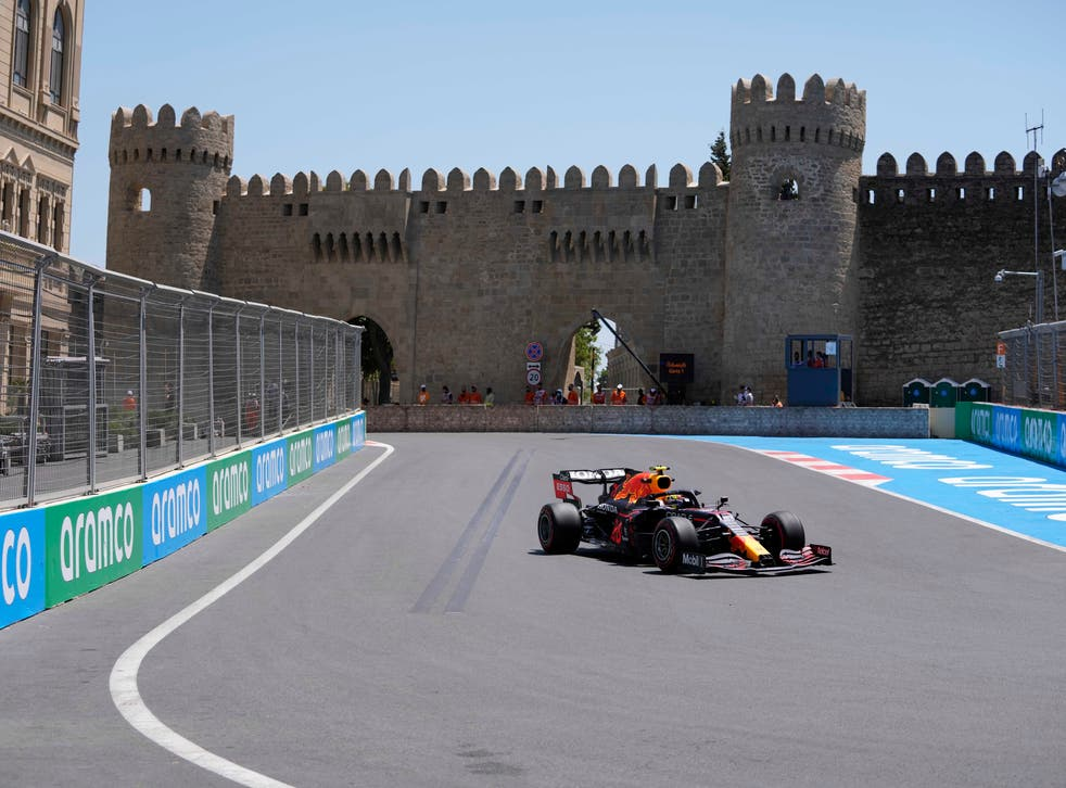 F1-GP AZERBAIYAN