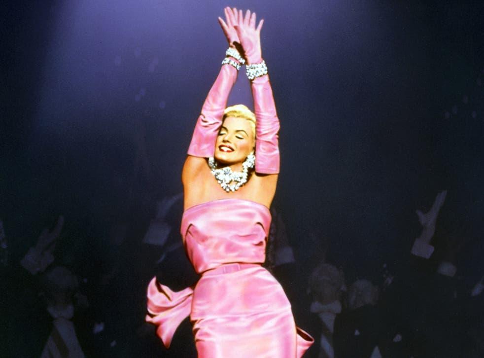 <p>Icon: Marilyn Monroe as Lorelei Lee in 'Gentlemen Prefer Blondes'</p>