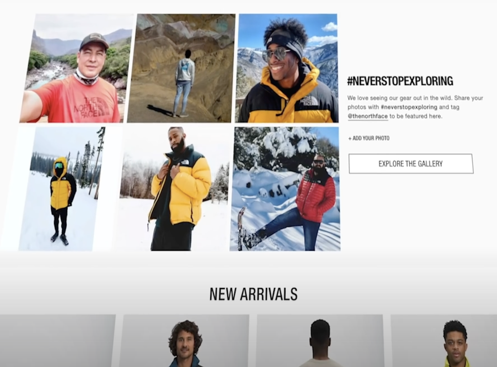 <p>Oil and gas company launches attack ad against North Face </p>