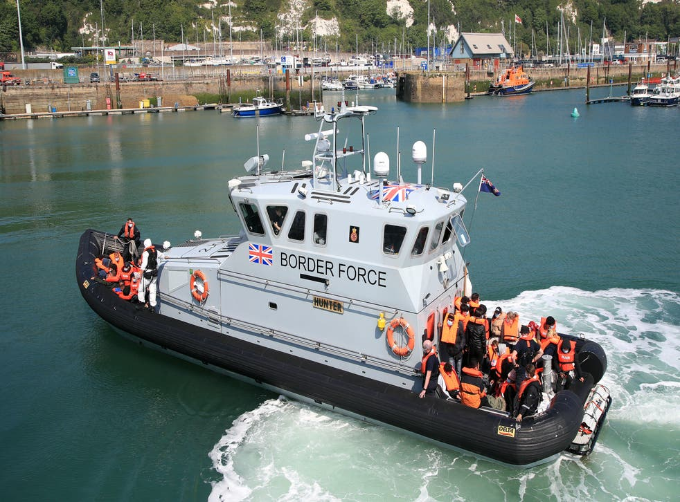 <p>The port of Dover in Kent was named by the boy as the location for a potential assault</p>