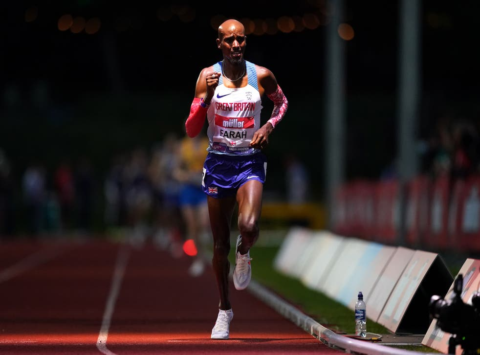 Mo Farah misses chance to seal Olympic spot after finishing eighth in  Birmingham | The Independent