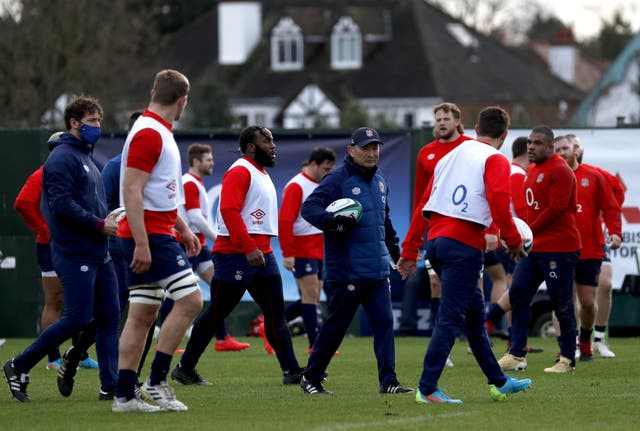 <p>Eddie Jones is keen to bring down the average age of the England squad over the next two years</p>
