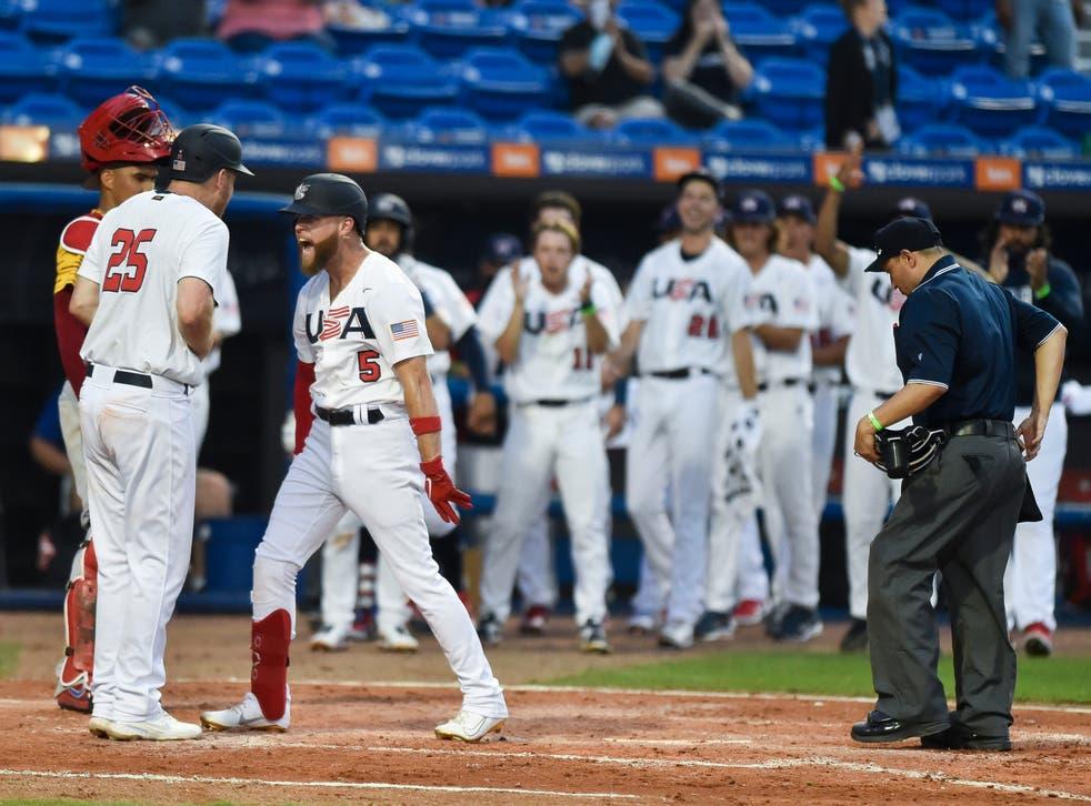 Venezuela US Baseball