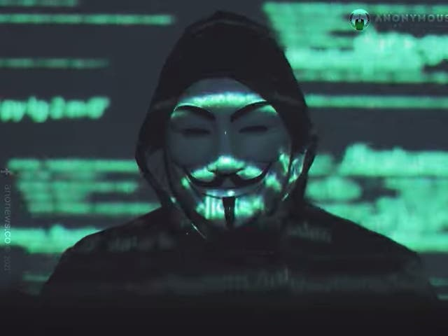 <p>A video featuring a Guy Fawkes-clad individual accused Elon Musk of ruining people's lives with his social media output</p>