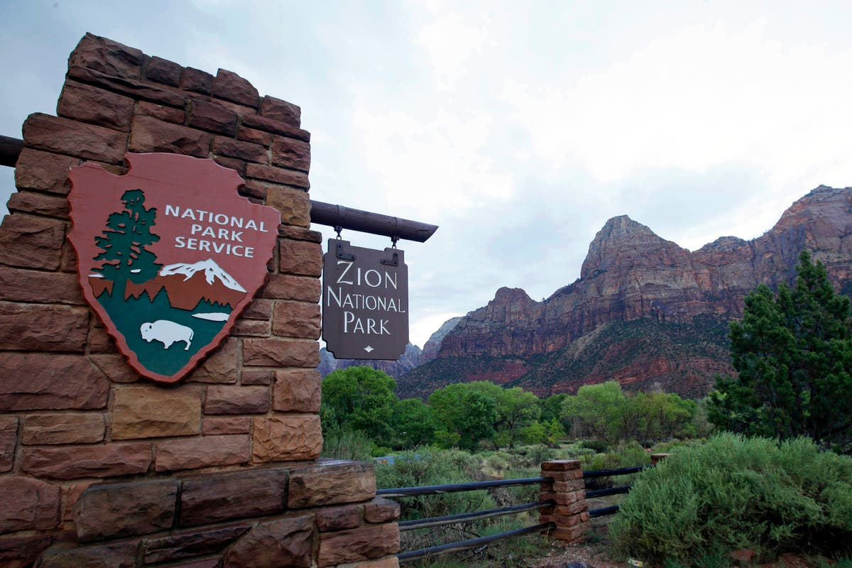 Woman dies after fall at US national park; body recovered