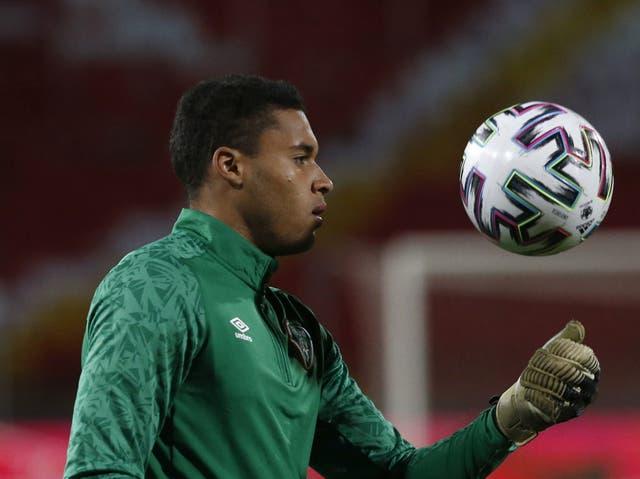 Republic of Ireland international Gavin Bazunu wants to be Manchester City's number one