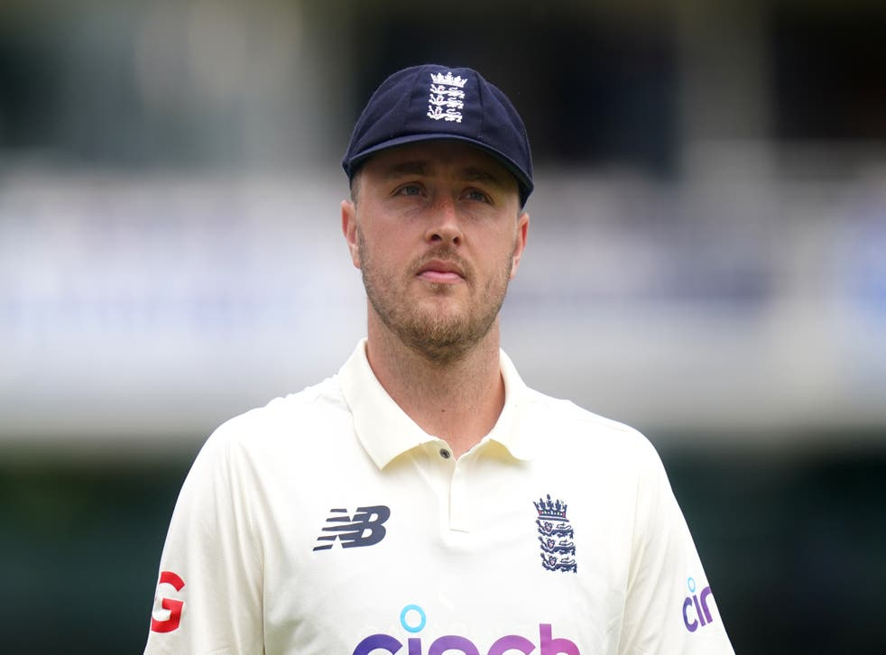 <p>England cricketer Ollie Robinson has been suspended</p>