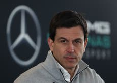 Mercedes boss Toto Wolff taunted by Red Bull after dramatic Sergio Perez win