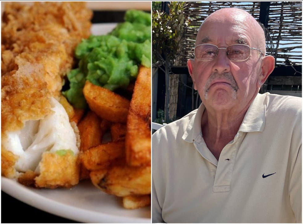 <p>Les Jones was horrified by the cost of takeaways in the capital</p>