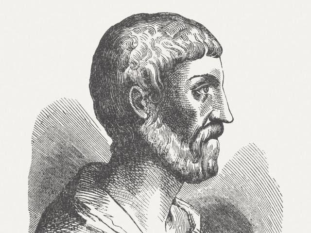 <p>Pythagoras of Samos (c. 570 BC; after 510 BC), the man who brought mathematics to music </p>