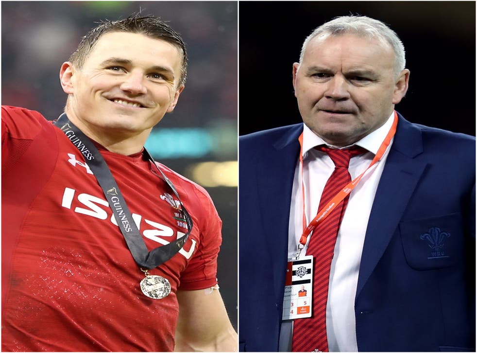 <p>Jonathan Davies. left, will captain Wales this summer</p>
