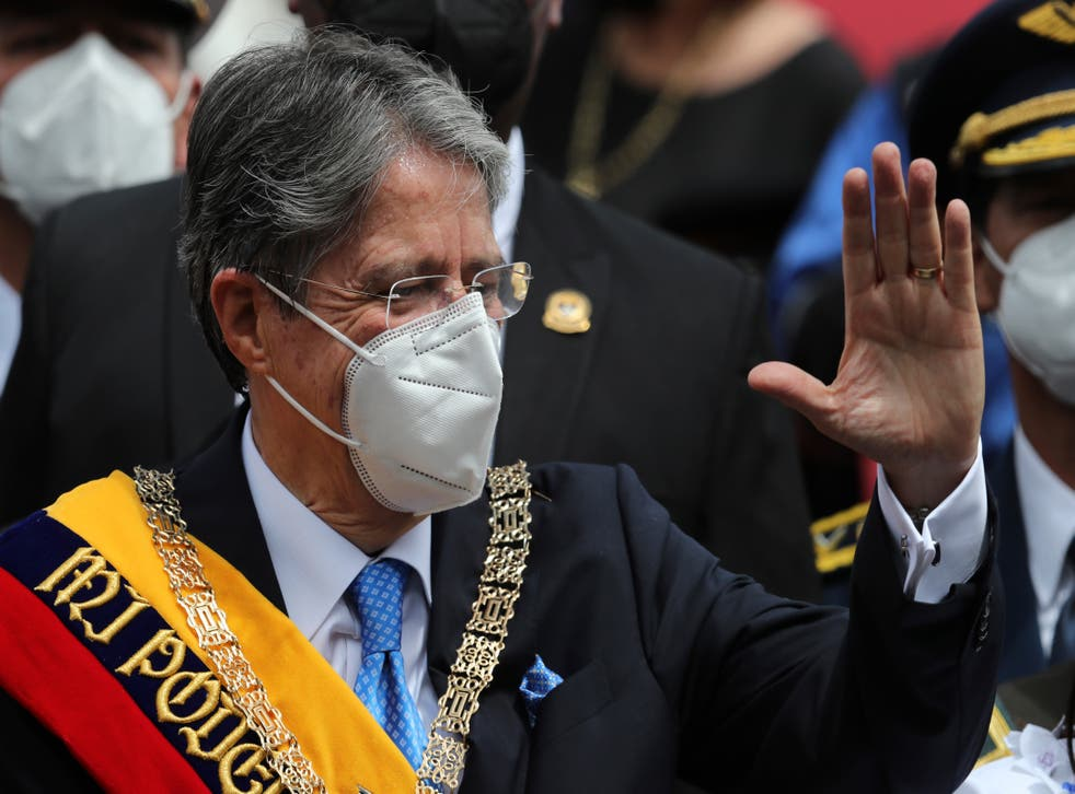 ECUADOR-PRESIDENTE INAUGURACION