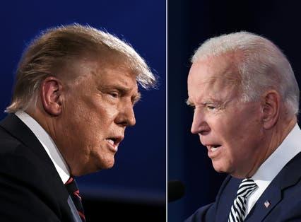 <p>Donald Trump was soundly beaten by Joe Biden</p>
