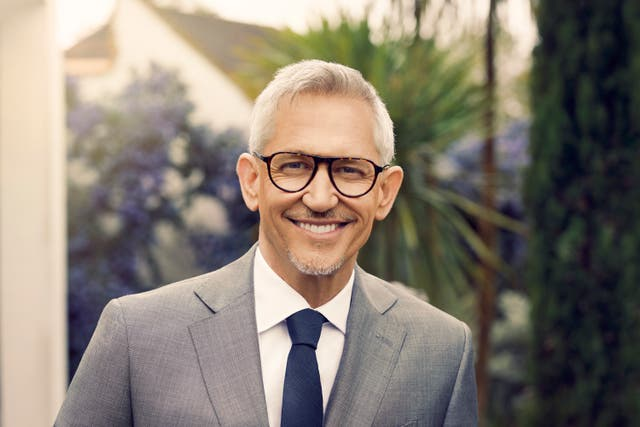 Gary Lineker wearing glasses from the Lineker Edit for Vision Express