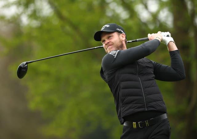 <p>Danny Willett in action</p>