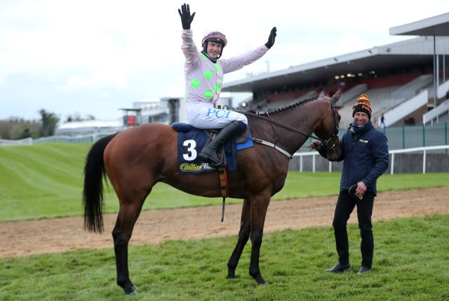 Chacun Pour Soi after winning at Punchestown