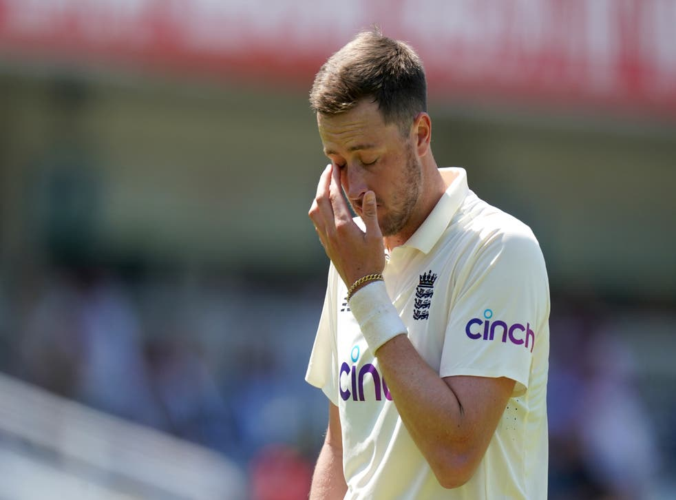 <p>Ollie Robinson's England debut was marred when old tweets came to light</p>