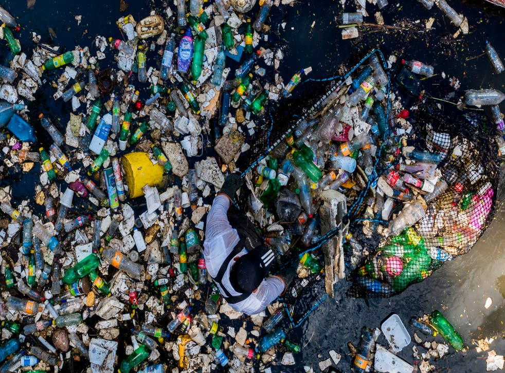 <p>Sea of waste: By 2050, there could be more plastic than fish in the world's oceans</p>