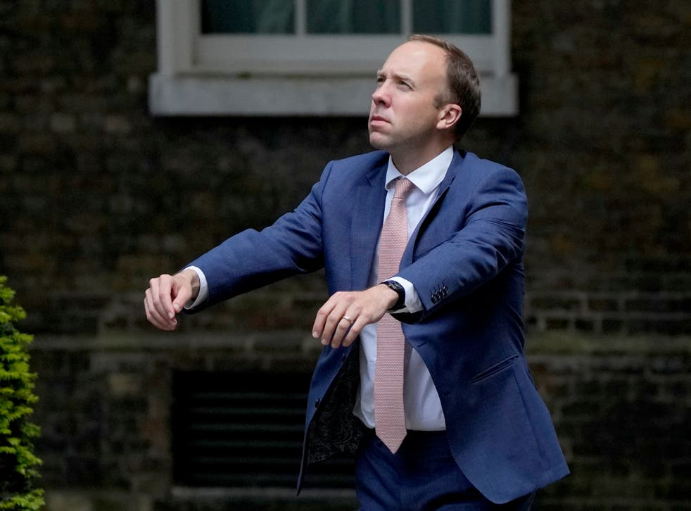 <p>Looks like Matt Hancock audition for a role in a zombie film</p>