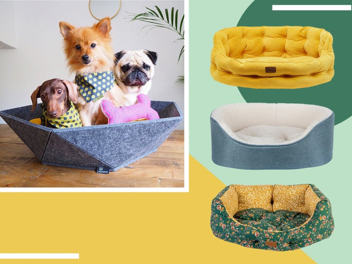 Pet Bed With Faux Fur Padded Polyester Bolster Cushion for Dogs Cat Machine Wash for sale online