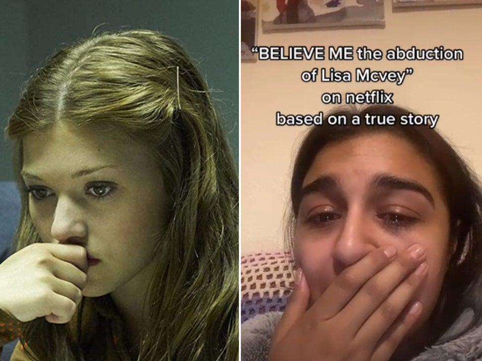 Tiktok Users Share Their Emotional Reaction To Netflix Film Believe Me The Abduction Of Lisa Mcvey Indy100