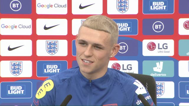 Phil Foden has dyed his hair ahead of the Euros