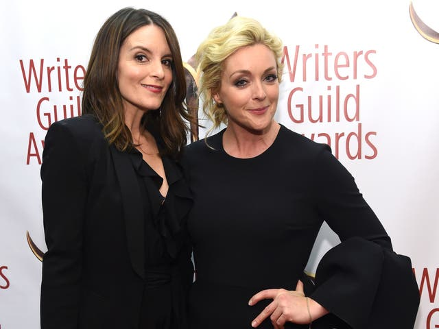 <p>Tina Fey teases Jane Krakowski over bizarre Mike Lindall story at comedy gala</p>