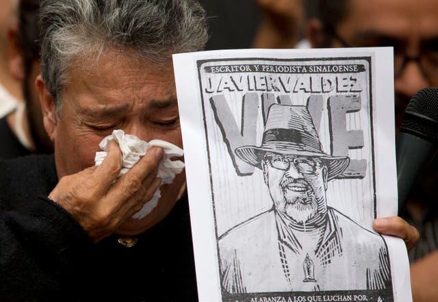MEXICO-CONDENA JAVIER VALDEZ