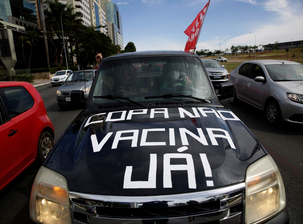 CORONAVIRUS-COPA AMERICA-BRASIL