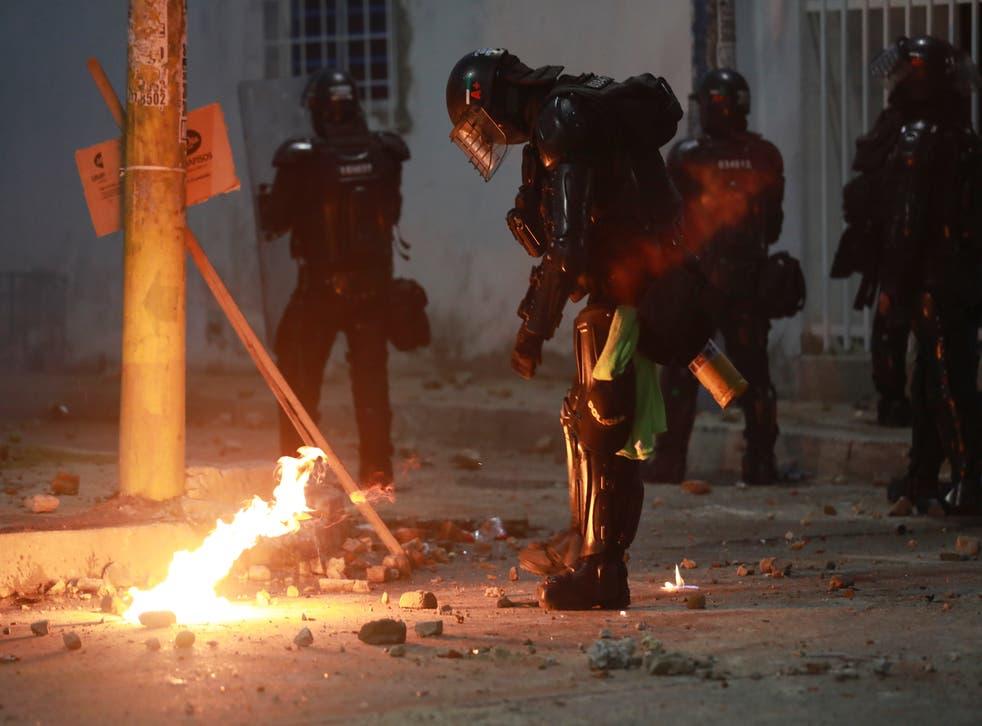 AMS-GEN COLOMBIA-PROTESTAS-HRW