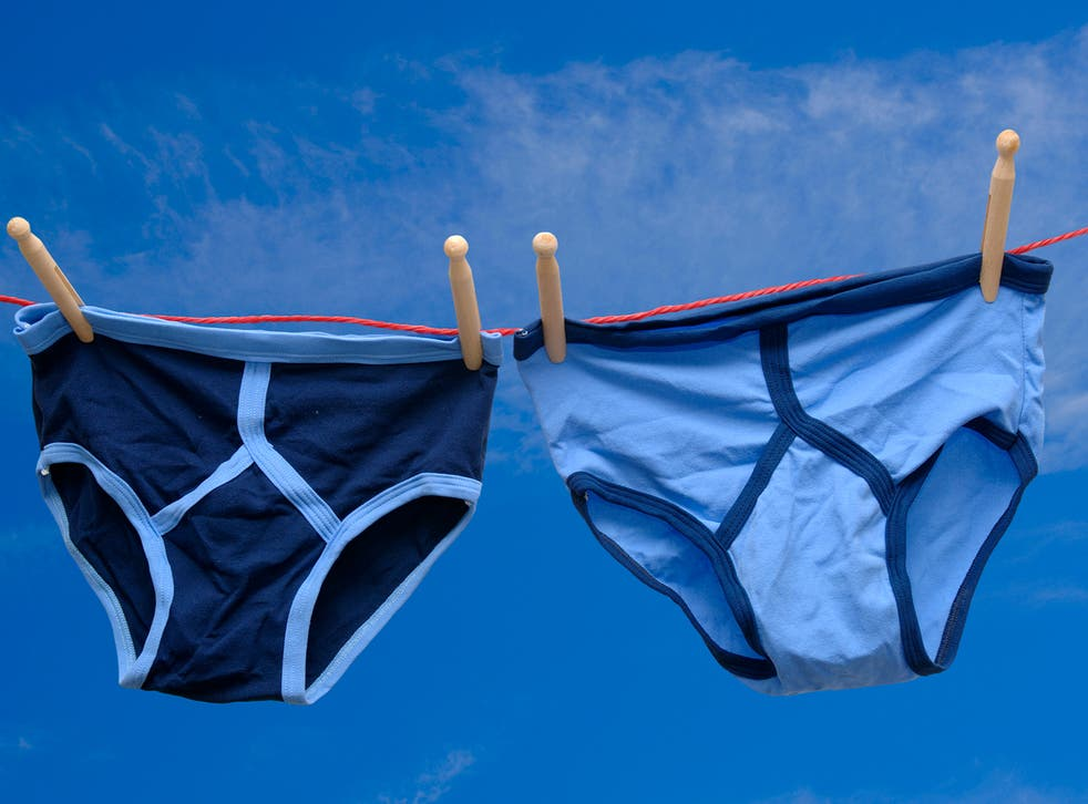 <p>Most men insisted that they wash their underwear after each use</p>
