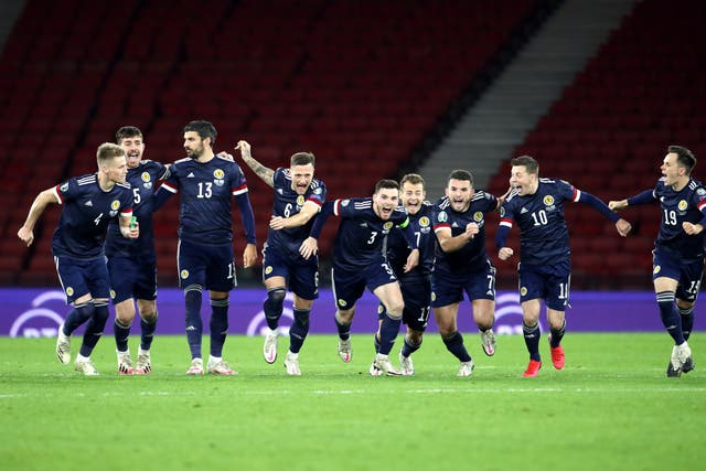 Scotland will play in a major tournament for the first time since the 1998 World Cup