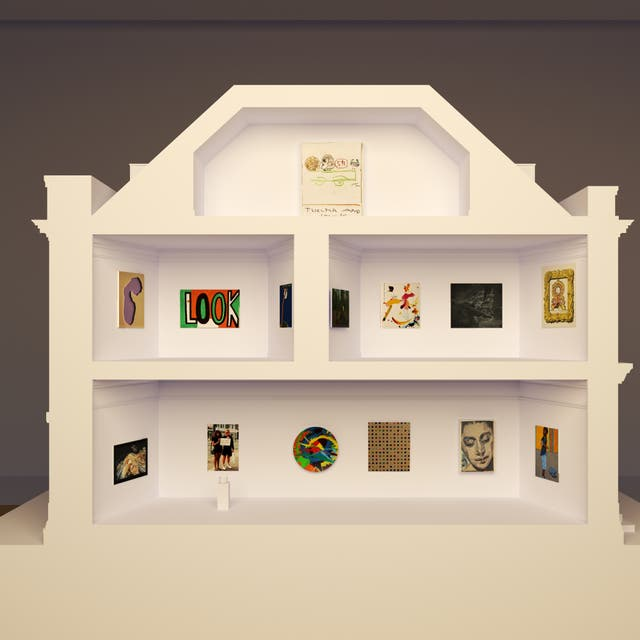 <p>Over 30 leading artists have made miniature artworks during lockdown for Pallant House's 'Masterpieces in Miniature: The 2021 Model Art Gallery'</p>