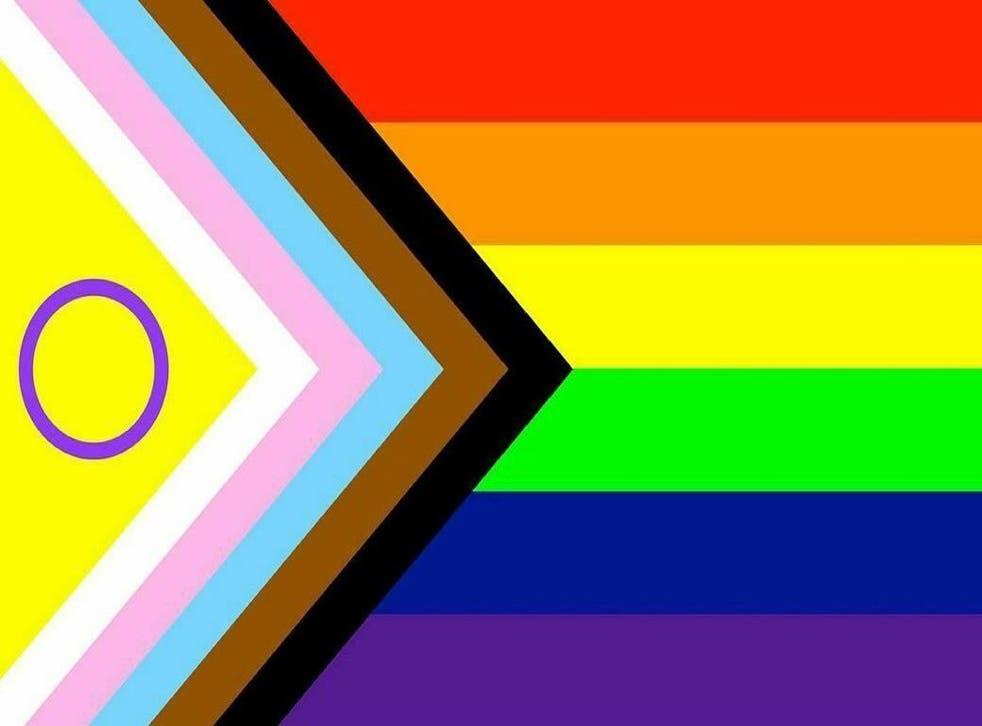 <p>Valentino Vecchietti diseñó esta nueva bandera que se estrena en el Mes del Orgullo</p>