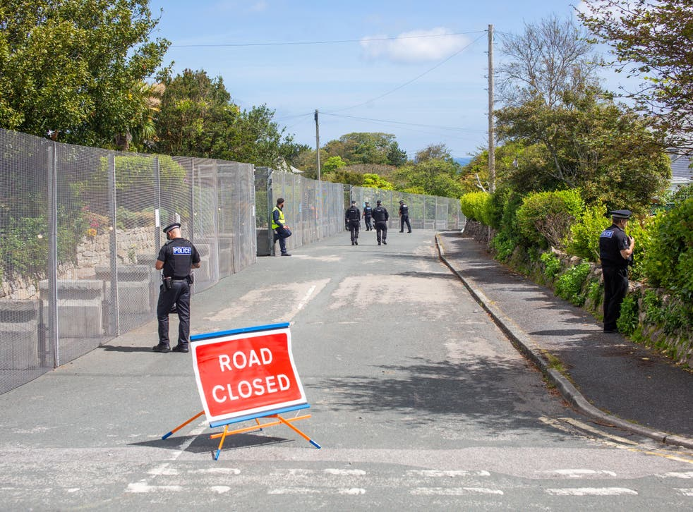<p>The imposing security fence which has been erected around the G7 summit site in St Ives, Cornwall, June 8 2021. Leaders from around the world are expected in the seaside town later this week.</p>