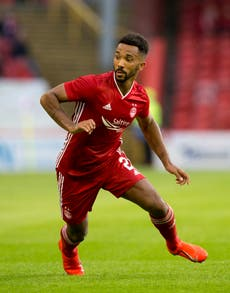 Shay Logan continues his dispute with new Aberdeen player/coach Scott Brown