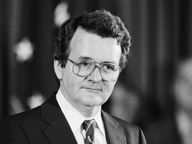 <p>Donovan at the height of his legal ordeals in 1982</p>