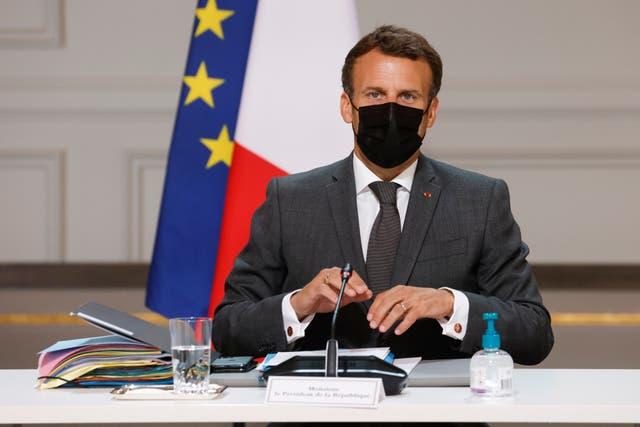 France Macron Ultra Right