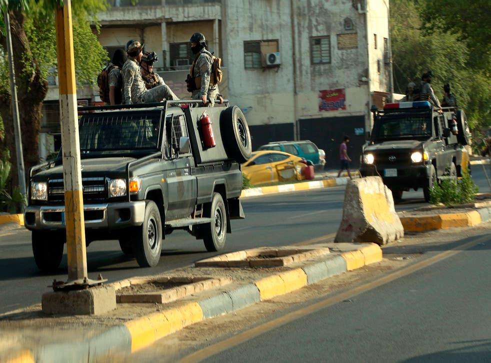 IRAK SEGURIDAD
