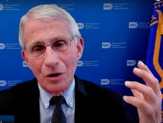 'Attacks on me are attacks on science': Fauci blasts critics in fiery TV appearance