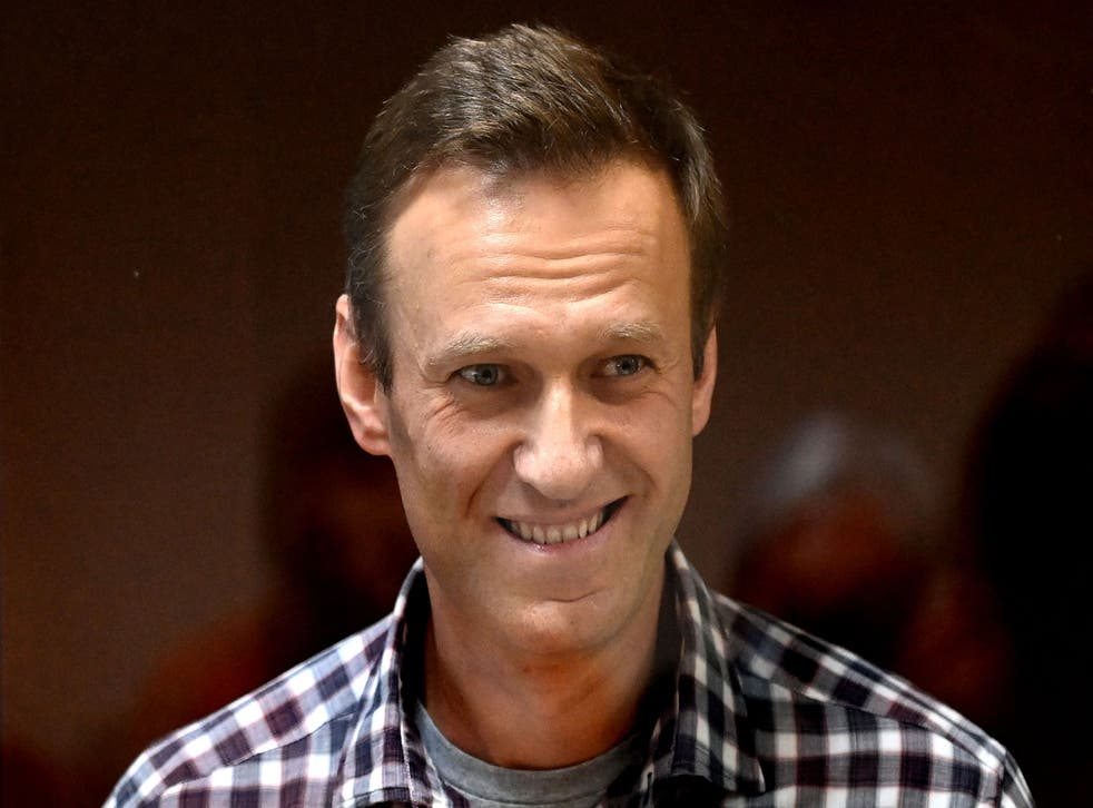 <p>Russian opposition leader Alexei Navalny</p>