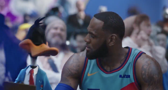 <p>LeBron James starring in Space Jam 2</p>