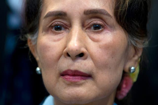 Myanmar Suu Kyi
