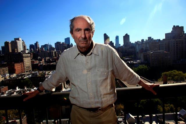 <p>Philip Roth in New York City, 2010</p>