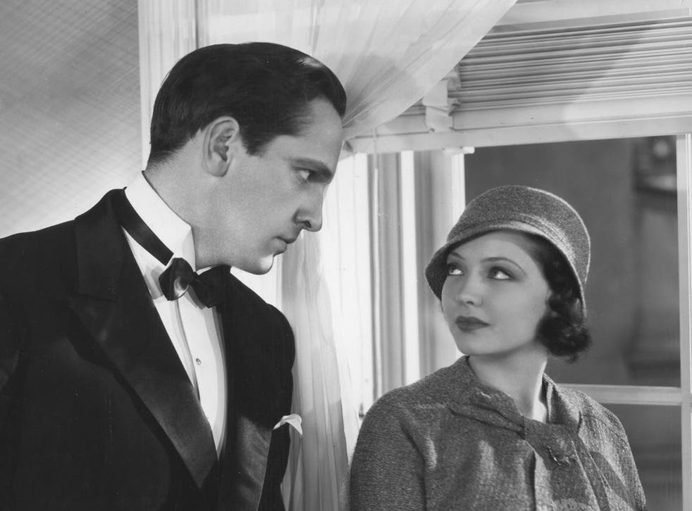 <p>Marital drama: Fredric March and Sylvia Sidney in Dorothy Arzner's 'Merrily We Go to Hell'</p>