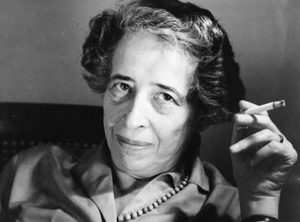 <p>Hannah Arendt (1906-1975), German-American political scientist, c1963</p>
