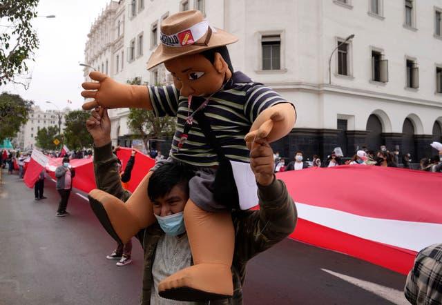 APTOPIX Peru Election