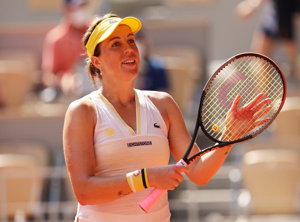 <p>Pavlyuchenkova got to the final in straight sets</p>