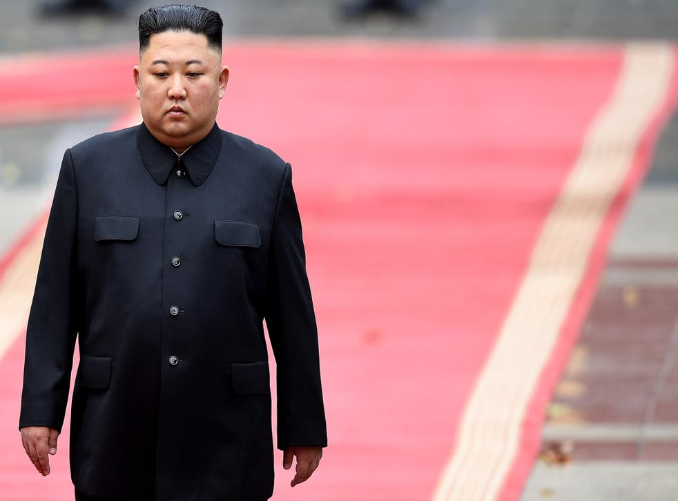 <p>'If this is left unchecked, [Kim Jong Un] fears that his people might start considering the South an alternative Korea to replace the North'</p>