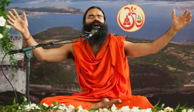 <p>File: Ramdev at a yoga workshop in London on 11 July, 2010. </p>